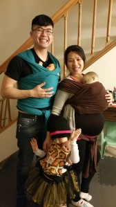 Getting ready to practice some kangaroo care when they bring their baby home