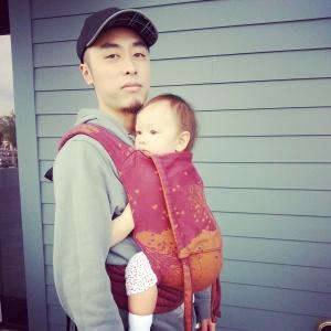Hubby & Dragon Baby