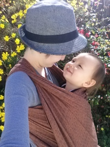 Memories of these sweet cuddles will long outlive our days of babywearing