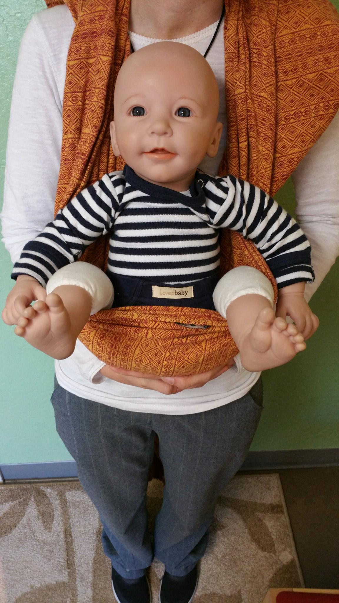 Making A Seat In A Woven Wrap Modern Babywearing