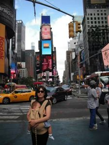 Times Square Nursing in an Ergo
