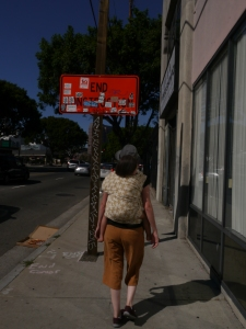 """""""Walking in LA... nobody walks in LA"""""""