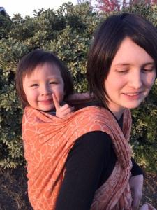 A happy Dragon Baby in BB-Slen Caramel